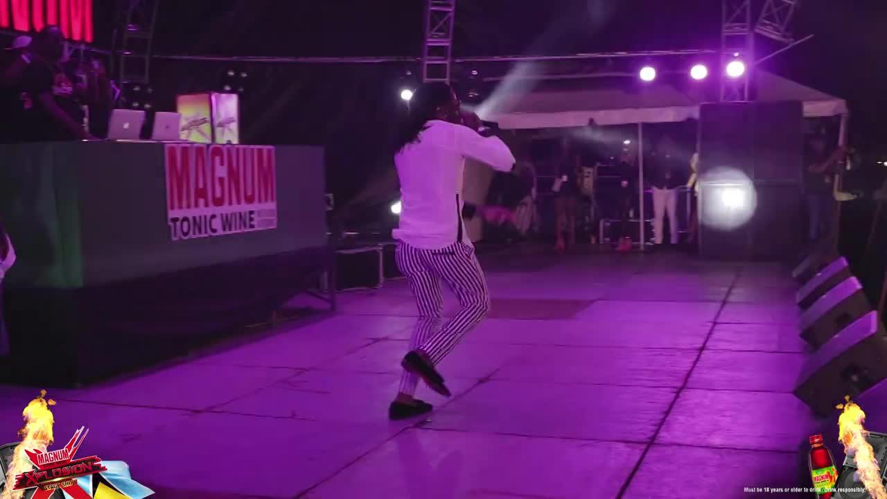 Aidonia at Magnum Xplosion St Lucia recap